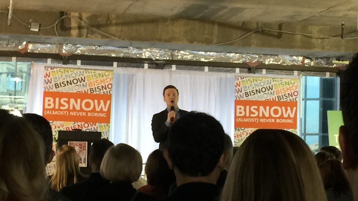 Tysons Tidal Wave Bisnow Event - Agent Knows Homes