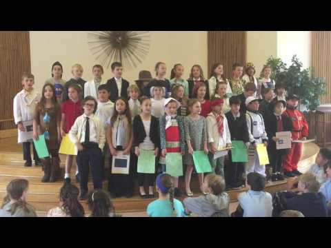50 state song sung by kids