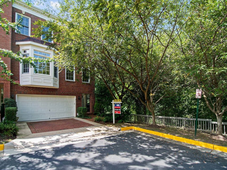 End Unit Townhome for sale, near woods and metro